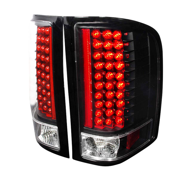 Spec-D Tuning LT-SIV07JMLED-KS: Spec-D 07-up Silverado Led Taillights - (lt-siv07jmled-ks)
