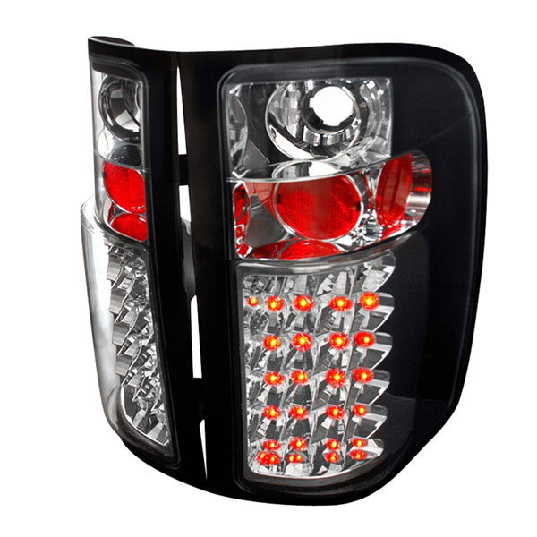Spec-D Tuning LT-SIV07JMLED-TM: Spec-D 07-up Silverado Led Taillights - (lt-siv07jmled-tm)