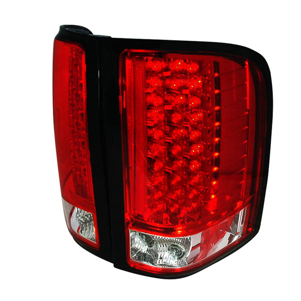 Spec-D Tuning LT-SIV07RLED-KS: Spec-D 07-up Silverado Led Taillights - (lt-siv07rled-ks)