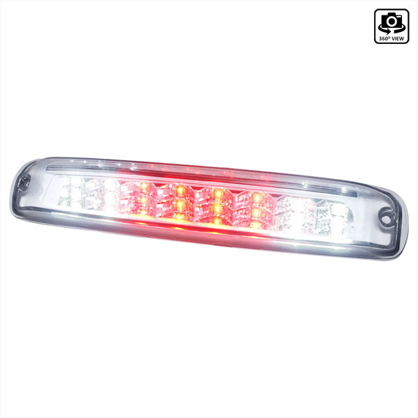 Spec-D Tuning LT-SIV99RBCLED-TM |  Silverado Led Tail Lights Chrome, 99-06