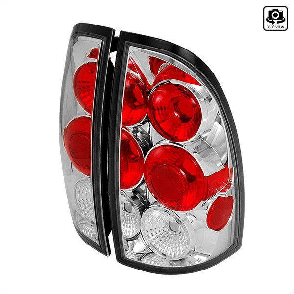 Spec-D Tuning LT-TAC06-TM: Spec-D 05-07 Toyota Tacoma Taillights - Chrome (lt-tac06-tm)