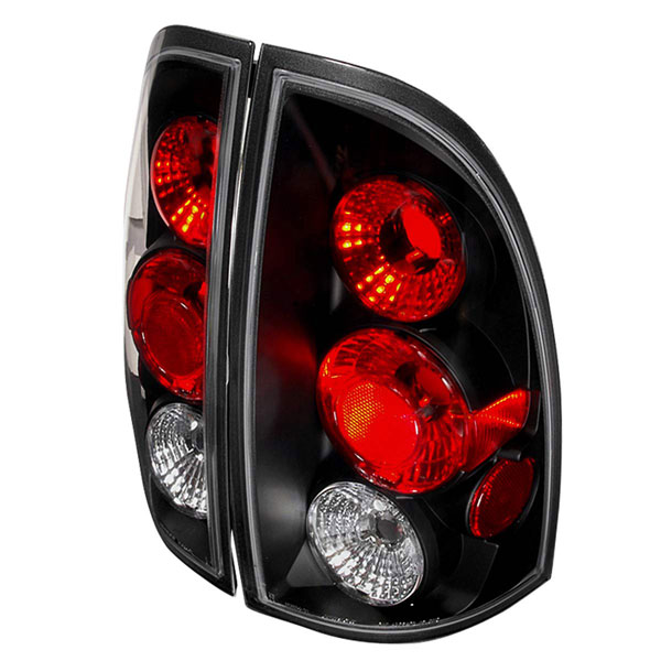Spec-D Tuning LT-TAC06JM-TM |  Toyota Tacoma Altezza Tail Light Black; 2005-2010