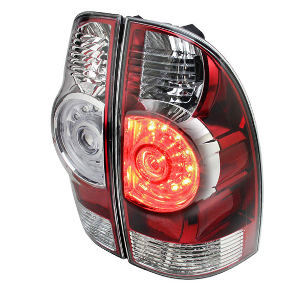 Spec-D Tuning LT-TAC09RLED-RS |  Toyota Tacoma Red Led Tail Lights, 05-13