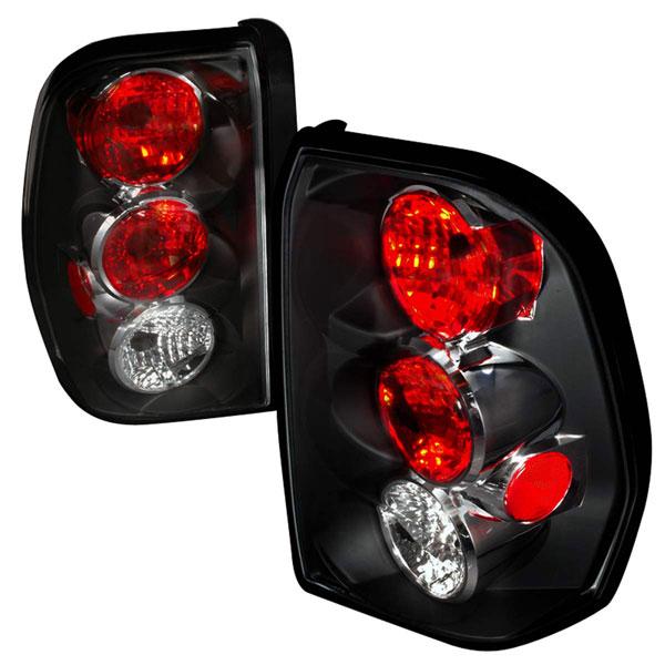 Spec-D Tuning LT-TBLZ02JM-TM    Chevrolet Trailblazer Altezza Tail Light Black, 02-09