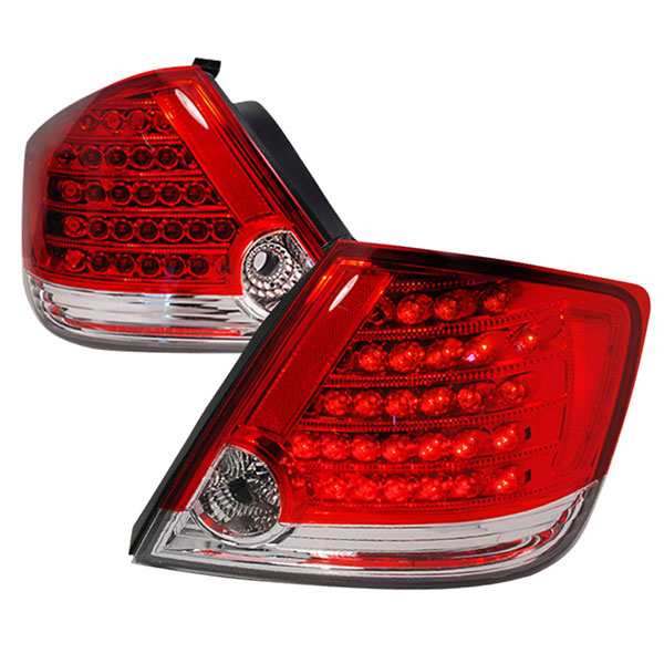 Spec-D Tuning LT-TC04RLED-KS |  Scion Tc Led Tail Lights Red, 05-07