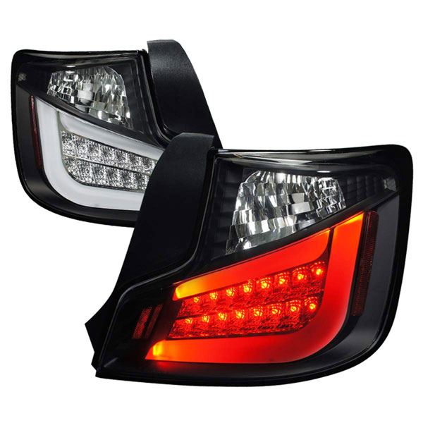 Spec-D Tuning (LT-TC10JMLED-TM)  Scion Tc Led Tail Lights Black Housing, 2011
