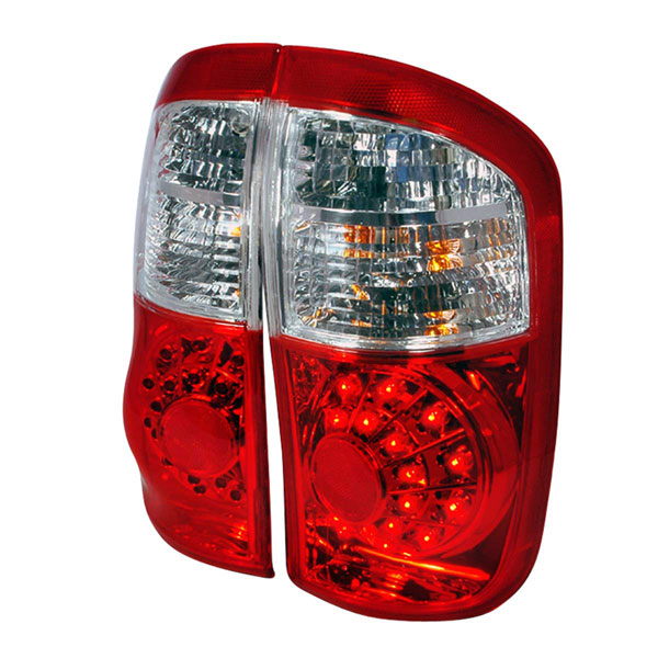 Spec-D Tuning LT-TUN00RLED-KS |  Toyota Tundra Led Tail Lights Red - Double Cab, 00-06