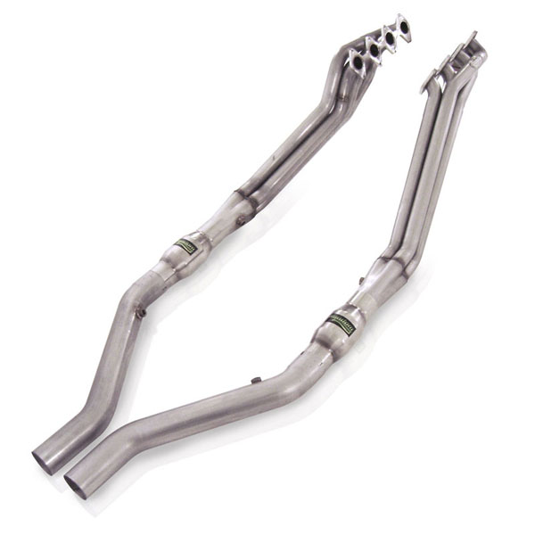 Stainless Works M05H:  Ford Mustang 2005-10 Headers 1 5/8'' Catted Leads