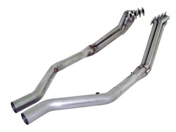 Stainless Works M05H175ORX:  2005 - 2010 Ford Mustang GT 4.6L Headers w. Offroad X 1-3/4in V8