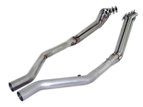 Stainless Works M05HOR |  - Ford Mustang GT 4.6L Headers w. Offroad Lead Pipes 1-5/8in V8; 2005-2010
