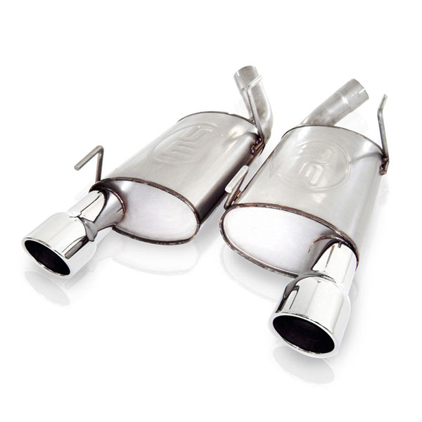 Stainless Works M05MKL:  Ford Mustang GT 2005-09 Exhaust ''Big Core'' Muffler Kit
