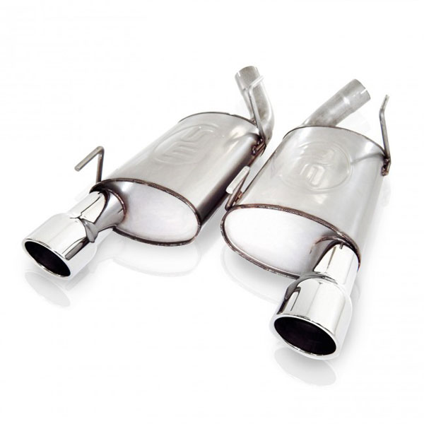 Stainless Works M10MKL:  Ford Mustang GT 2010 Exhaust ''Big Core'' Performance Muffler Kit