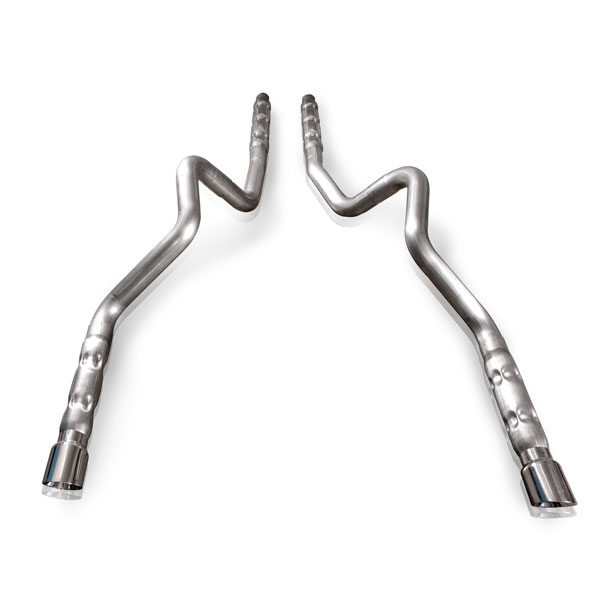 Stainless Works M12CB3:  2011 - 2013 Ford Mustang GT 5.0L/GT500 Catback Exhaust 3 V8