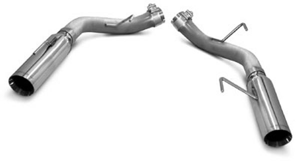 SLP Performance M31014: SLP Loudmouth Exhaust Mustang GT GT500 V8 2005-10 Axle-Back