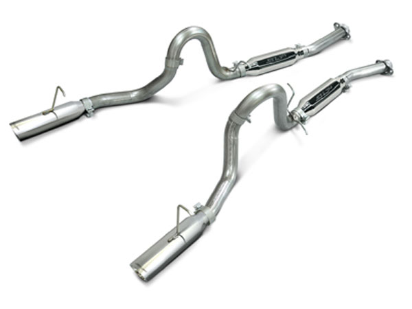 SLP Performance M31015: SLP Loudmouth Exhaust Mustang LX 5.0 86-93 / 93 COBRA Cat-back System