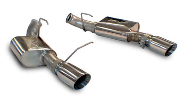 SLP M31022:  2011-14 Mustang GT Powerflo Axle-Back Exhaust w/4 inch Tips V8