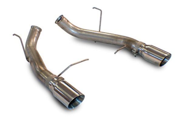 SLP Performance M31023 | SLP Loudmouth Exhaust Mustang GT / GT500 / Boss  302 Axle-Back w/4 inch Tips V8