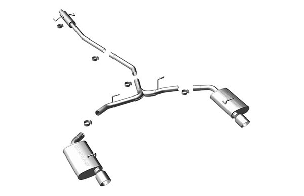 Magnaflow (15552)  Exhaust System for 2010 Ford Fusion 3.0L/3.5L