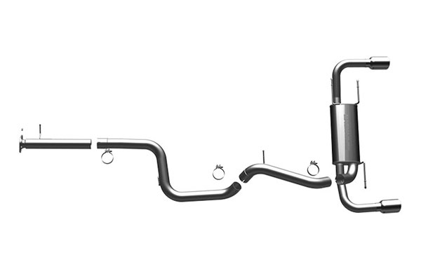 Magnaflow 15557 |  Exhaust System for 2010 Mazdaspeed 3 2.3L T
