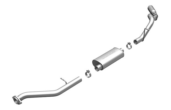 Magnaflow (15617)  Exhaust System for GM SILVERADO/SIERRA 1500 4.3L 4.8L 5.3L 1999-2002 SC/ShrtB Single Side Exit