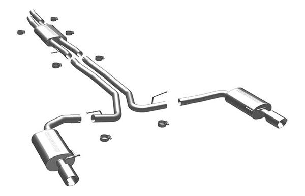 Magnaflow 15769 |  Exhaust System for 2010 Ford Taurus SHO 3.5L T