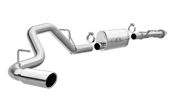 Magnaflow 15818 |  Exhaust System for GM Silverado/Sierra 1500 Classic 4.3L 4.8L 5.3L SC/ShrtB Single Side Exit; 2003-2007