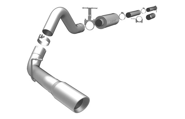 Magnaflow 15900 |  Exhaust System for FORD 7.3L POWERSTROKE DIESEL, 4in SYSTEM 1999-2003