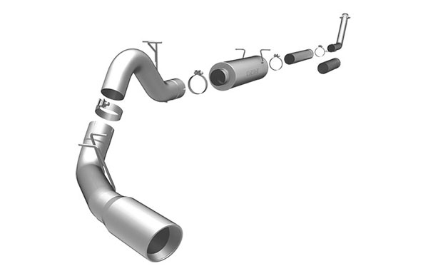 Magnaflow 15910:  Exhaust System for DODGE CUMMINGS DIESEL 4 IN. CLUB CAB 1998-2002