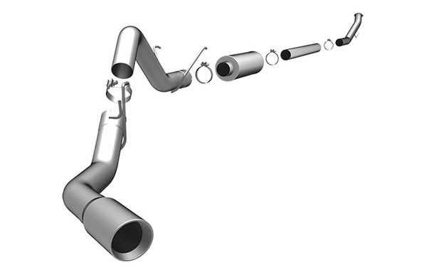 Magnaflow 15968    Exhaust System for DODGE CUMMINGS DIESEL 4 IN. 2003-2004