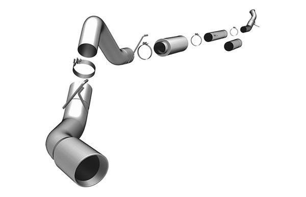 Magnaflow 15986    Exhaust System for DODGE CUMMINS DIESEL 5 IN. HIGH-OUTPUT 2004-2007