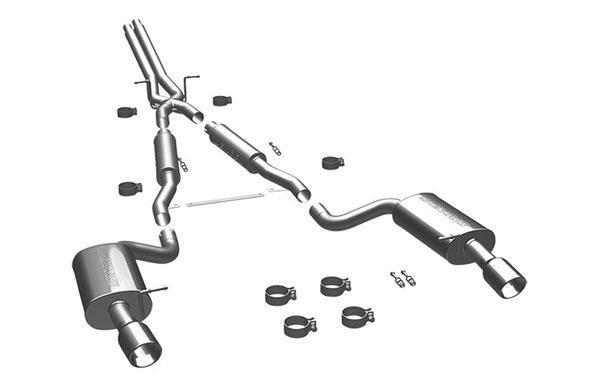 Magnaflow 16493 |  Exhaust System for Audi A6 2.7L Bi-Turbo; 1997-2004