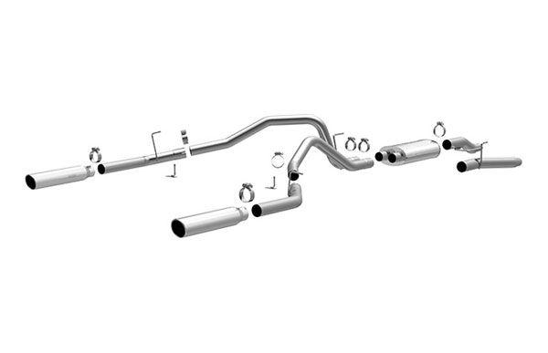 Magnaflow (16520)  Exhaust System for FORD F-150 2004-08 Dual Split Rear Exit (OPEN BOX)