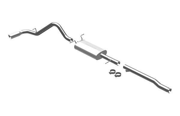 Magnaflow 16567 |  Exhaust System for Silverado/Sierra 4.8L 5.3L 6.0L CC/EC, Shrt Bed Single Side Exit; 2009-2009