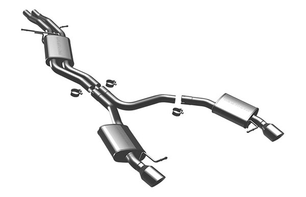 Magnaflow (16597)  Exhaust System for 2009 Audi A5 3.2L V6 Coupe