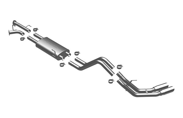 Magnaflow 16653 |  Exhaust System for Toyota Tundra 5.7 SC/SB dual s; 2007-2008