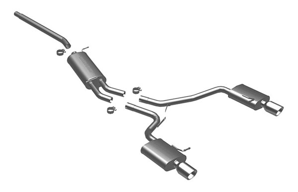 Magnaflow 16680    Exhaust System for Audi A4 2.0T FWD; 2006-2006