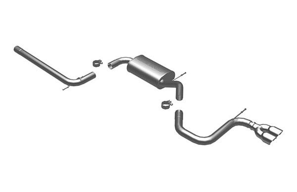 Magnaflow 16692 |  Exhaust System for C / B VW Golf / Rabbit 2.5L; 2006-2007
