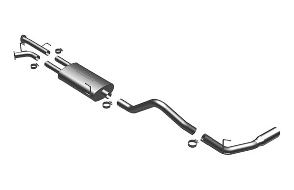 Magnaflow 16770 |  Exhaust System for 5.7 Toyota Tundra SC/SB single; 2007-2008