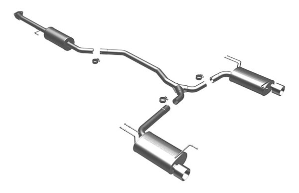 Magnaflow 16817 |  Exhaust System for Honda Accord Coupe 3.5L; 2008-2009