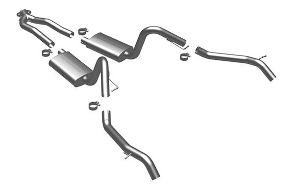 Magnaflow 16828 |  Exhaust System for Camaro; 1975-1979