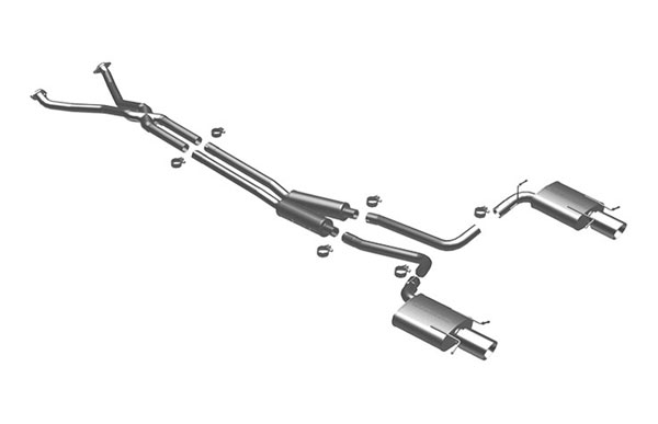 Magnaflow (16831)  Exhaust System for 2008 Cadillac CTS 3.6L V6