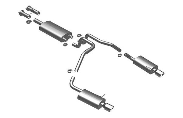 Magnaflow (16833)  Exhaust System for 2002- GM Trailblazer/Envoy 4.