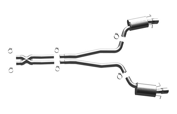 Magnaflow 16866 |  Exhaust System for Cadillac CTS-V; 2009-2009