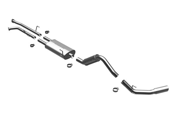 Magnaflow (16877)  Exhaust System for 2007-08 Toyota Tundra 4.7 single ex.