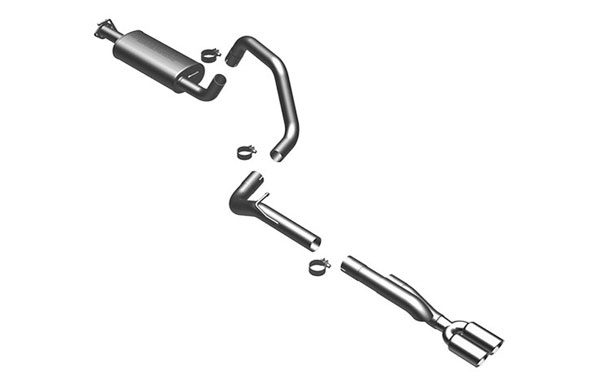 Magnaflow (16888)  Exhaust System for 1999-04 LR Discovery 4.0/4.6