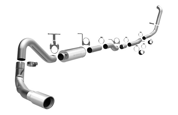 Magnaflow 16918    Exhaust System for FORD 6.0L POWERSTROKE DIESEL, 4in. SYSTEM 2005-2007