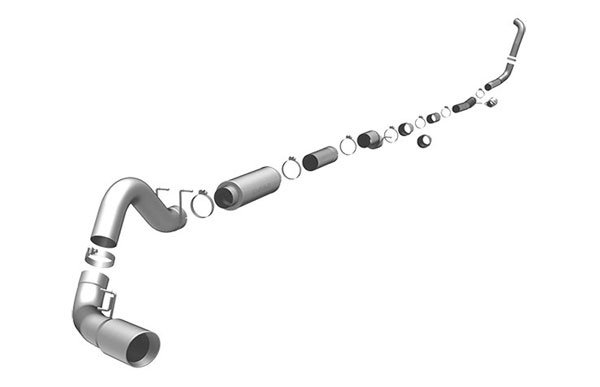 Magnaflow 16926 |  Exhaust System for FORD 6.0L POWERSTROKE DIESEL, 5in. SYSTEM; 2005-2007