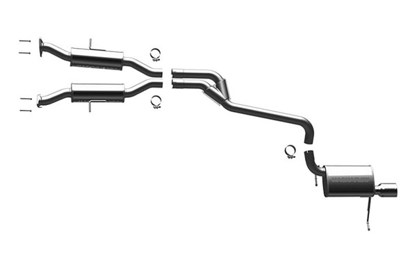 Magnaflow 16991:  Exhaust System for 2011 Grand Cherokee 3.6L 6