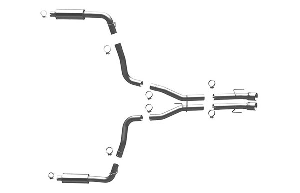 Magnaflow 16992:  Exhaust System for 1996-02 Dodge Viper GTS 8.0L
