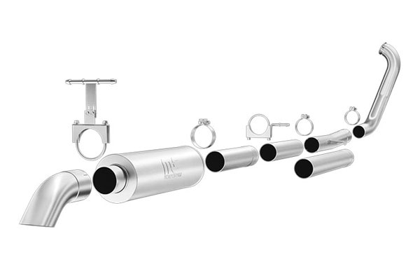 Magnaflow 17135 |  Exhaust System for Ford Diesel EC/CC 4 inch; 1999-2003